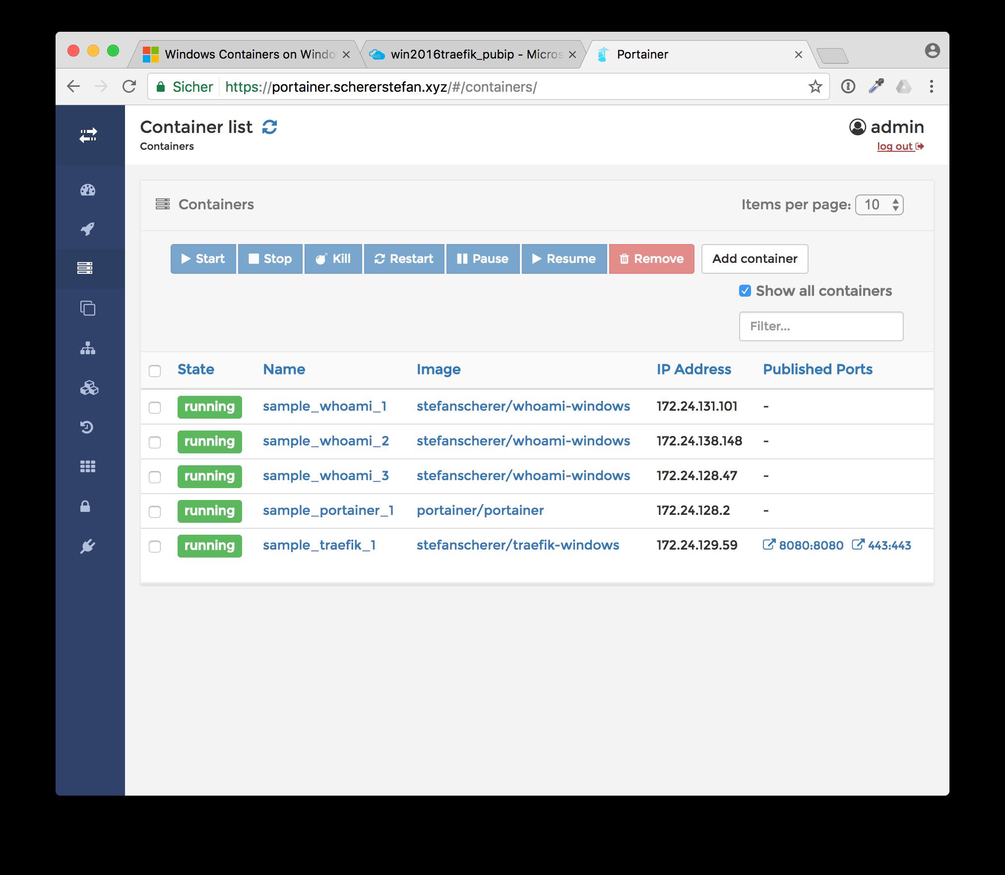 How To Run Encrypted Windows Websites With Docker And Træfɪk