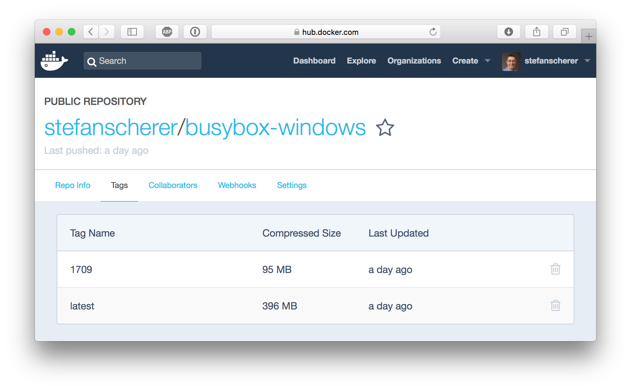 docker-hub-busybox-windows