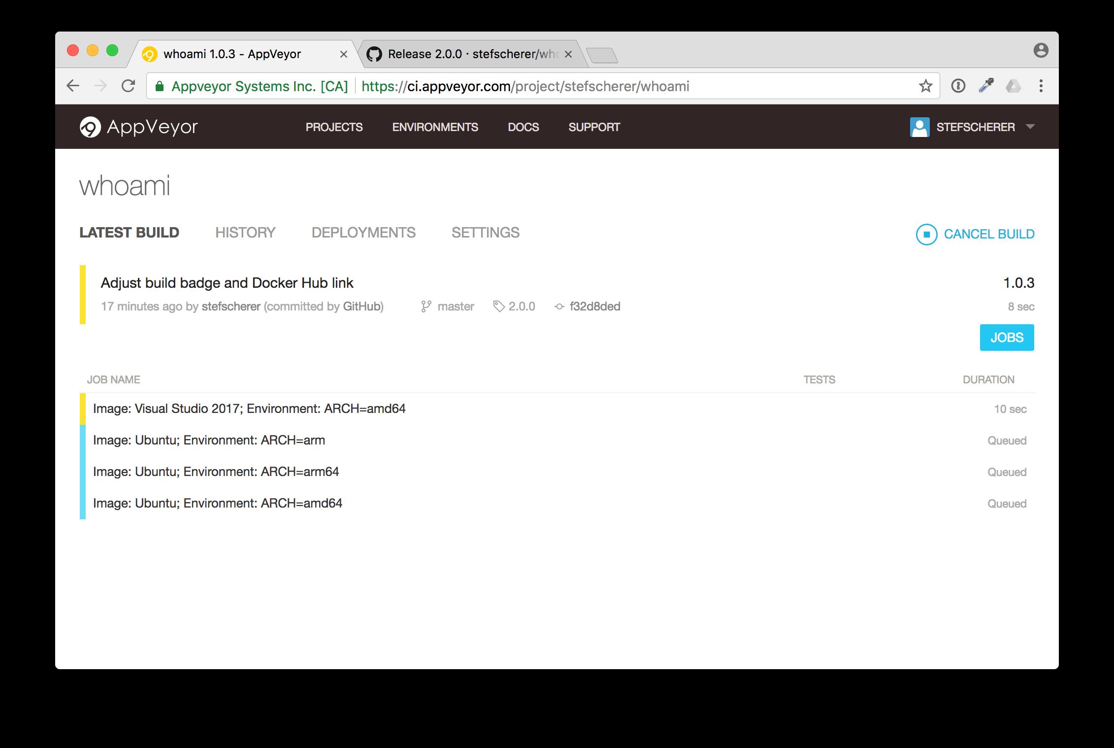 appveyor-release-build
