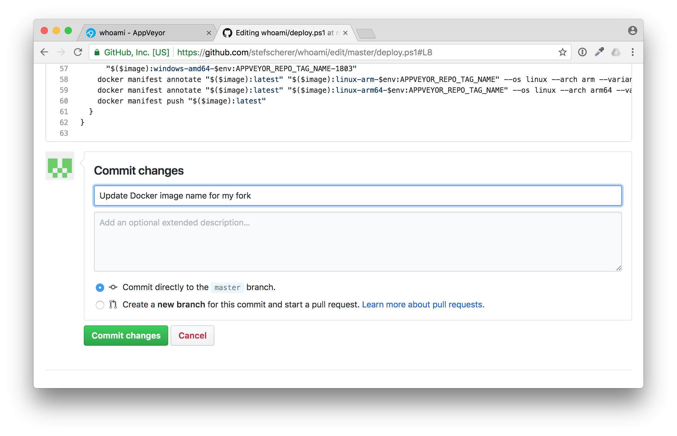 github-commit-changes-deploy-ps1